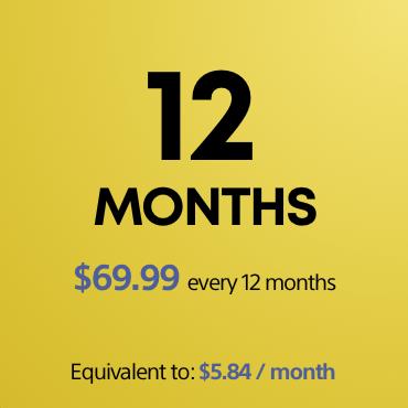 12 months PS Plus subscription