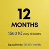 Předplatné služby PS Plus na 12 měsíců