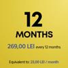 Abonament PS Plus pentru 12 luni