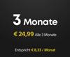 3-monatiges PS Plus-Abonnement