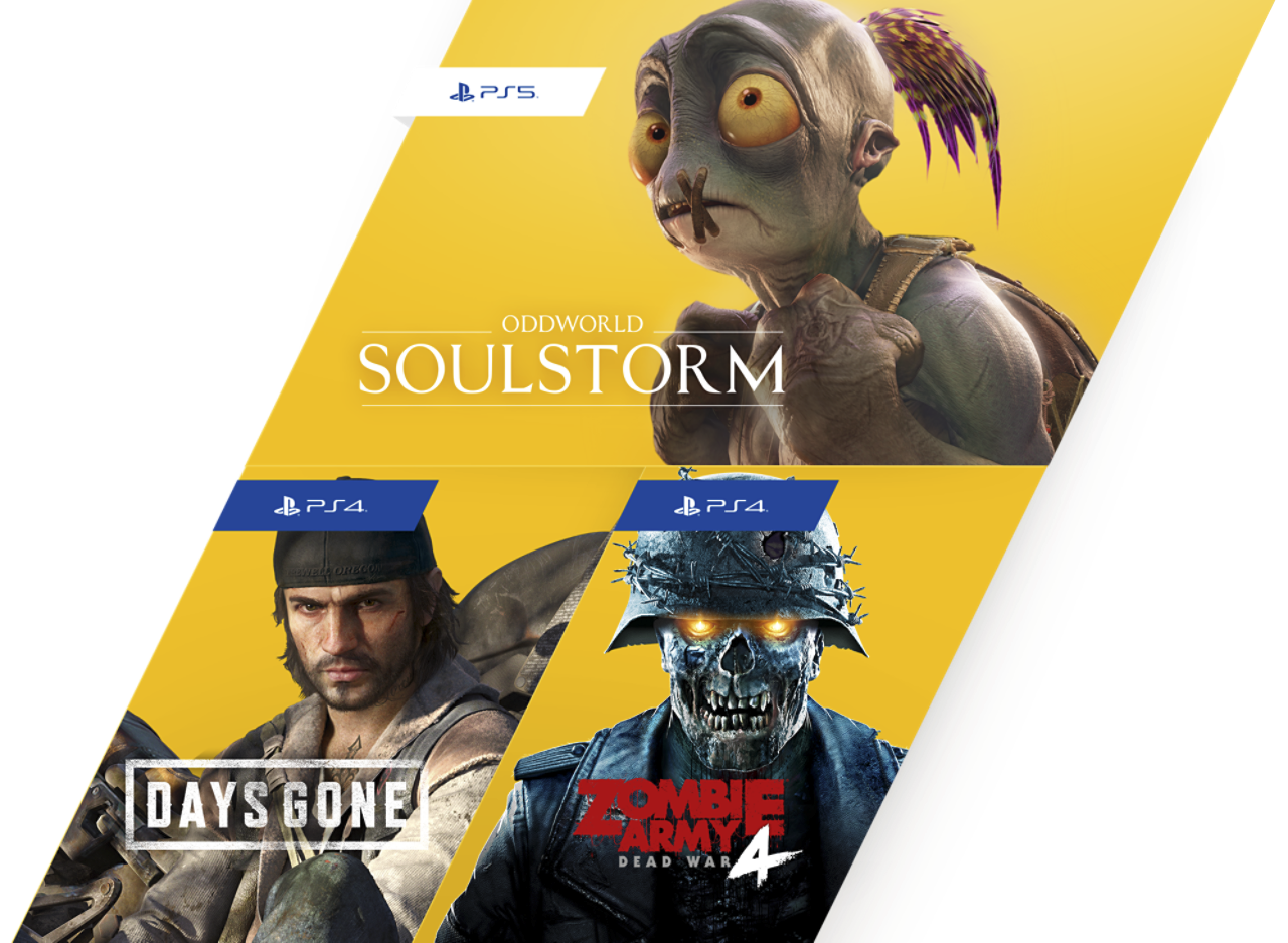 PlayStation Plus - March Free Games Image