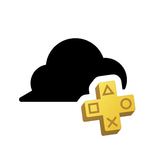 Logo archiviazione nel cloud di PlayStation Plus