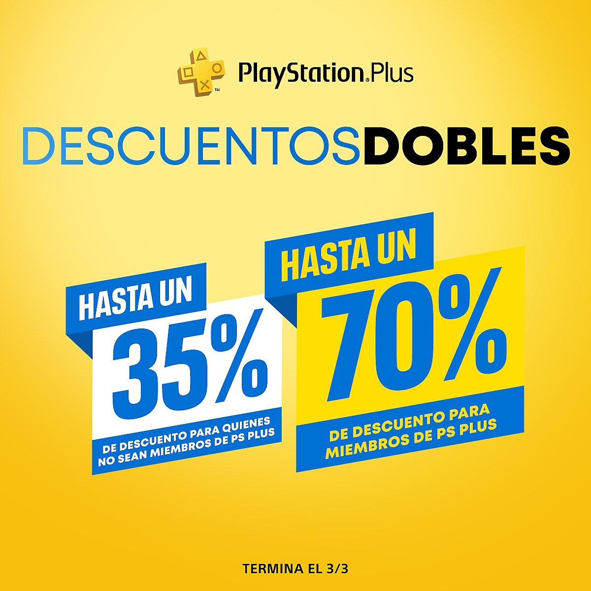 PlayStation Store - Descuentos dobles de PlayStation Plus