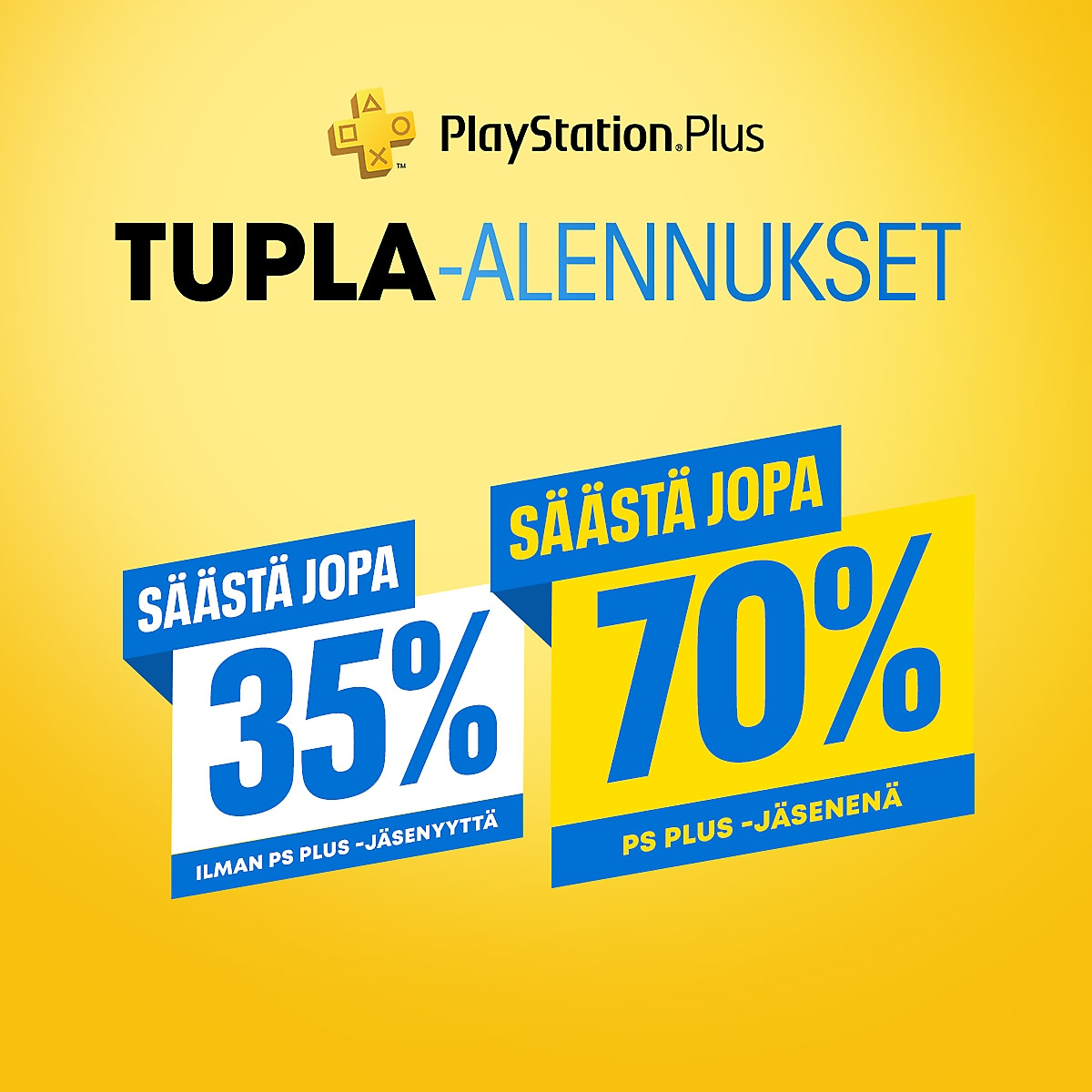 PlayStation Store – PlayStation Plussan tupla-alennukset