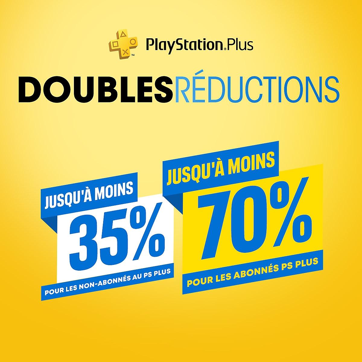 PlayStation Store - Doubles réductions PlayStationPlus