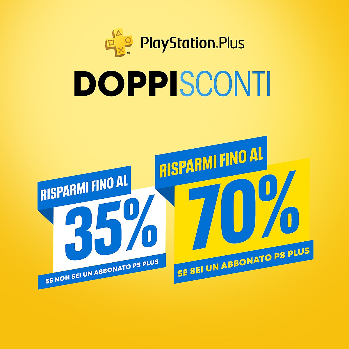 PlayStation Store - Doppi sconti PlayStation Plus