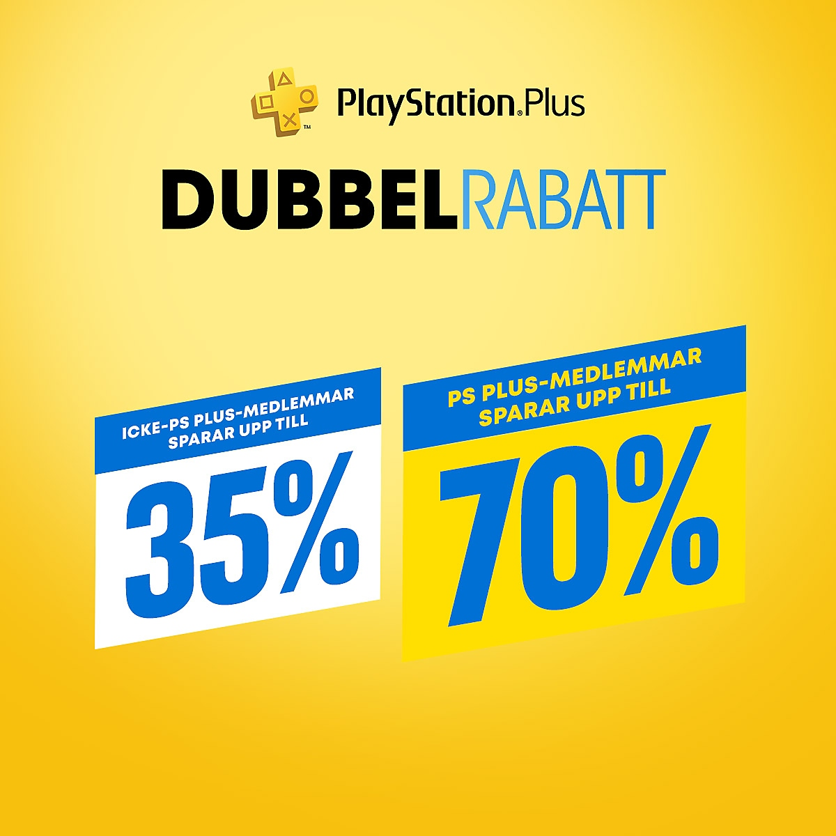 PlayStation Store – Dubbla PlayStation Plus-rabatter