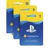 Dárkové karty služby PS Plus
