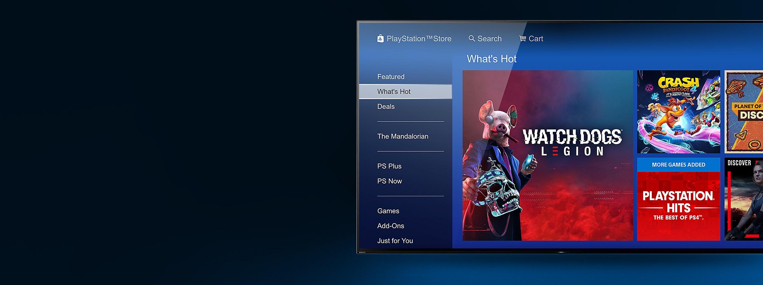 PlayStation Store - Arte de banner de la página