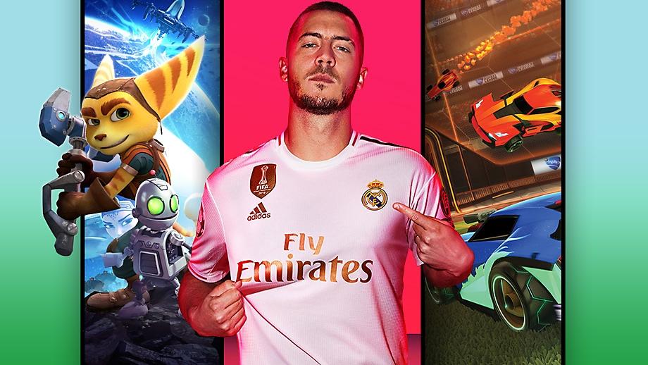 Arte clave promocional de Juegos de PS4 para niños