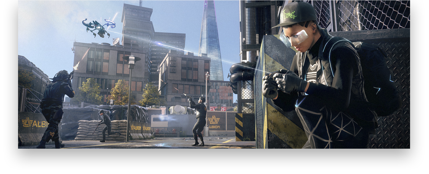 Watch Dogs: Arte clave de Legion