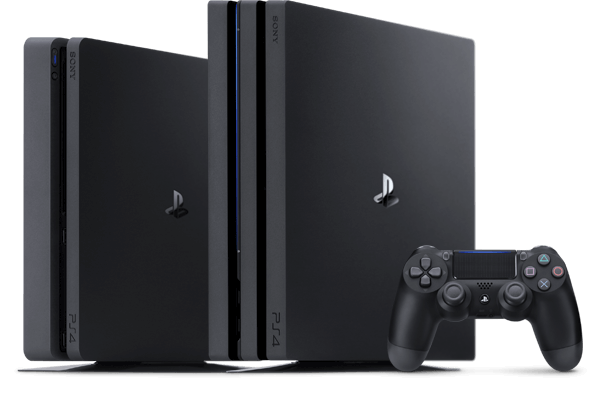 PS4 Pro and Slim console