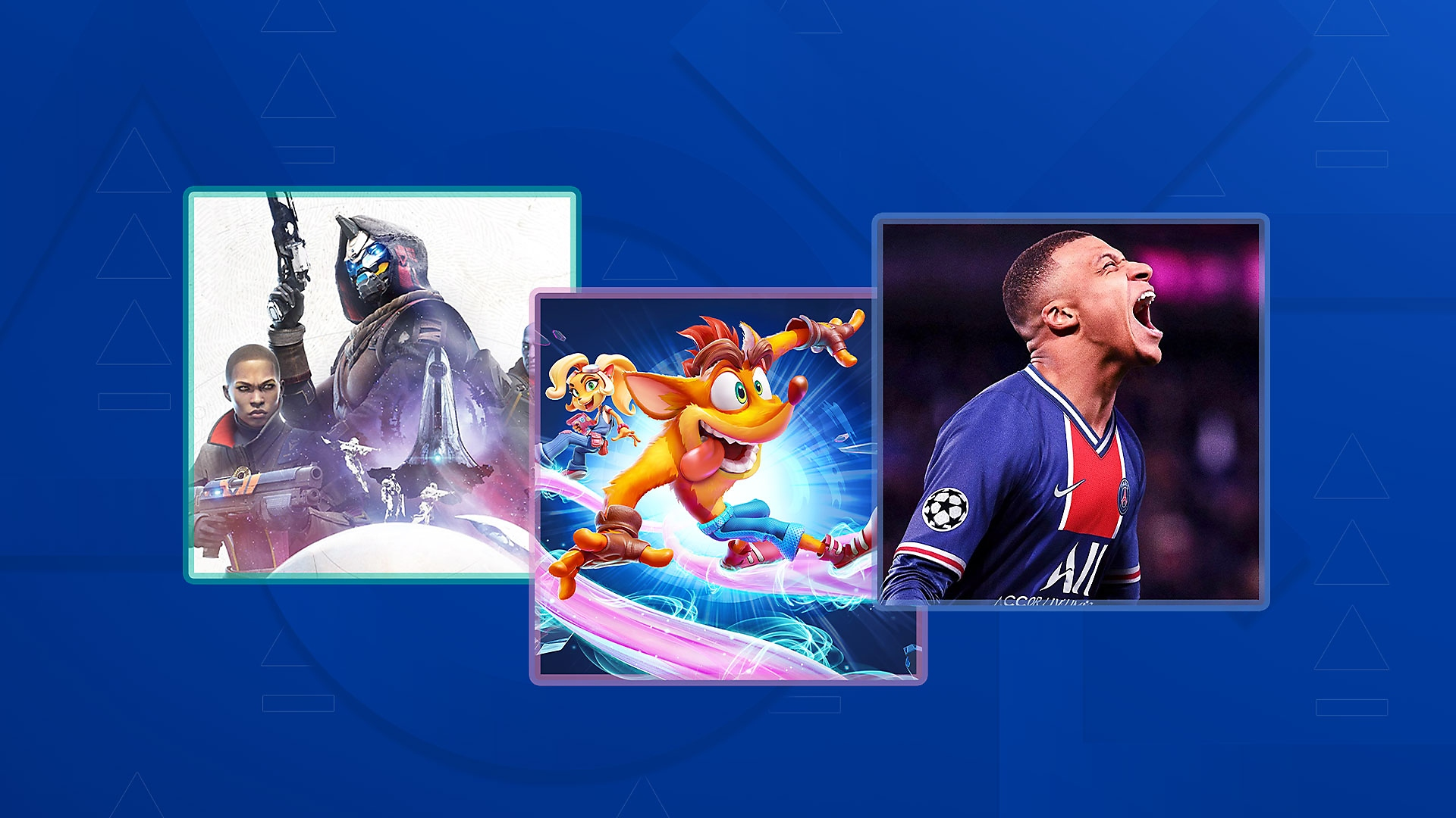 PS4 games enhanced for PS5 promotional key art