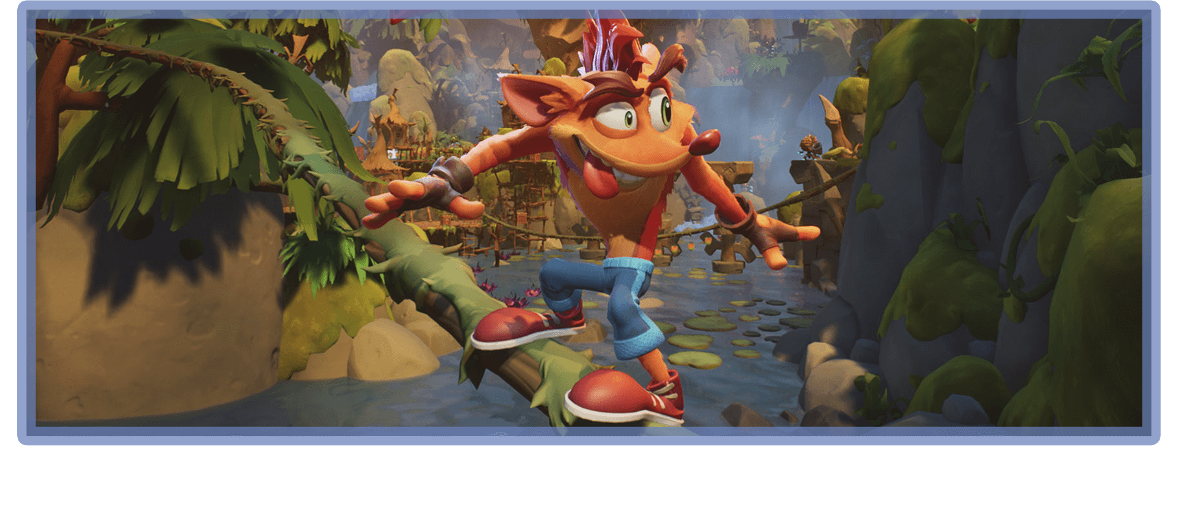 Crash Bandicoot 4: It's about time - Çizim
