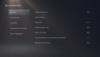 PS5-Barrierefreiheit – Anzeigeeinstellungen
