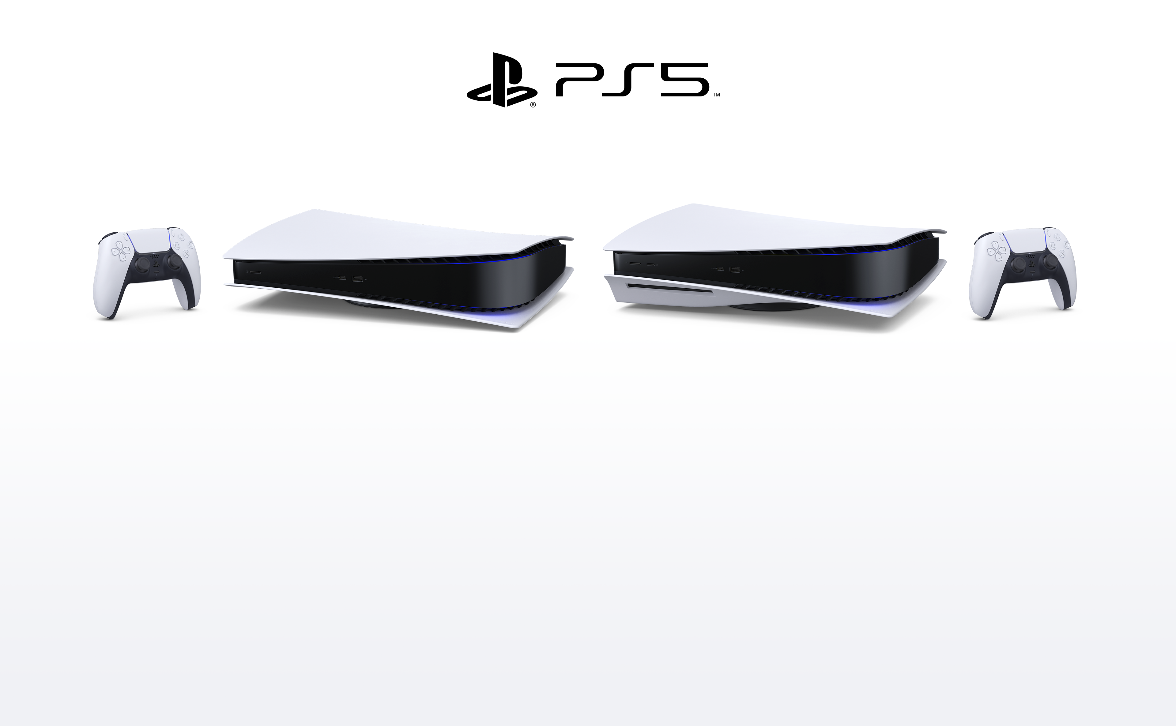 PlayStation 5 - Buy Now - Consoles Header