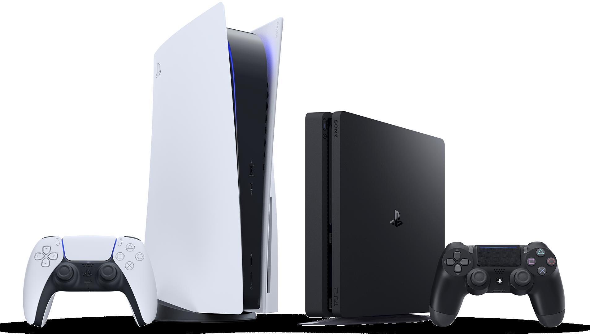 PS4- og PS5-konsoller