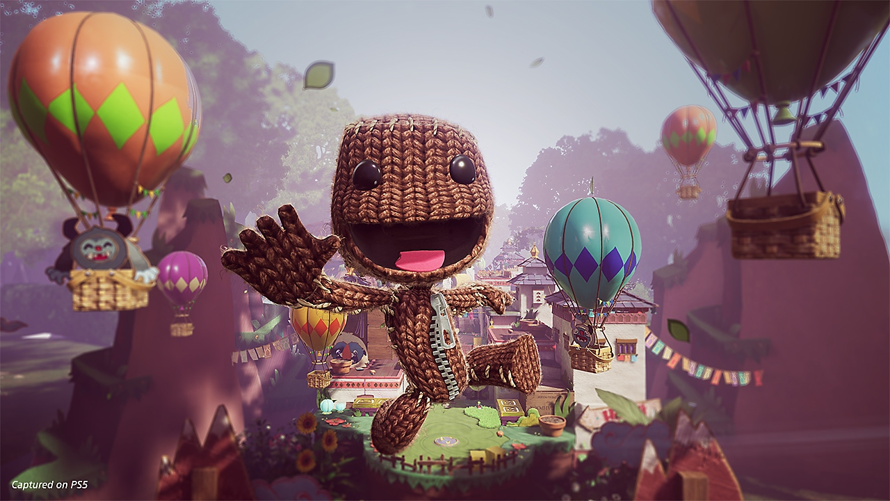 Sackboy A Big Adventure screenshot