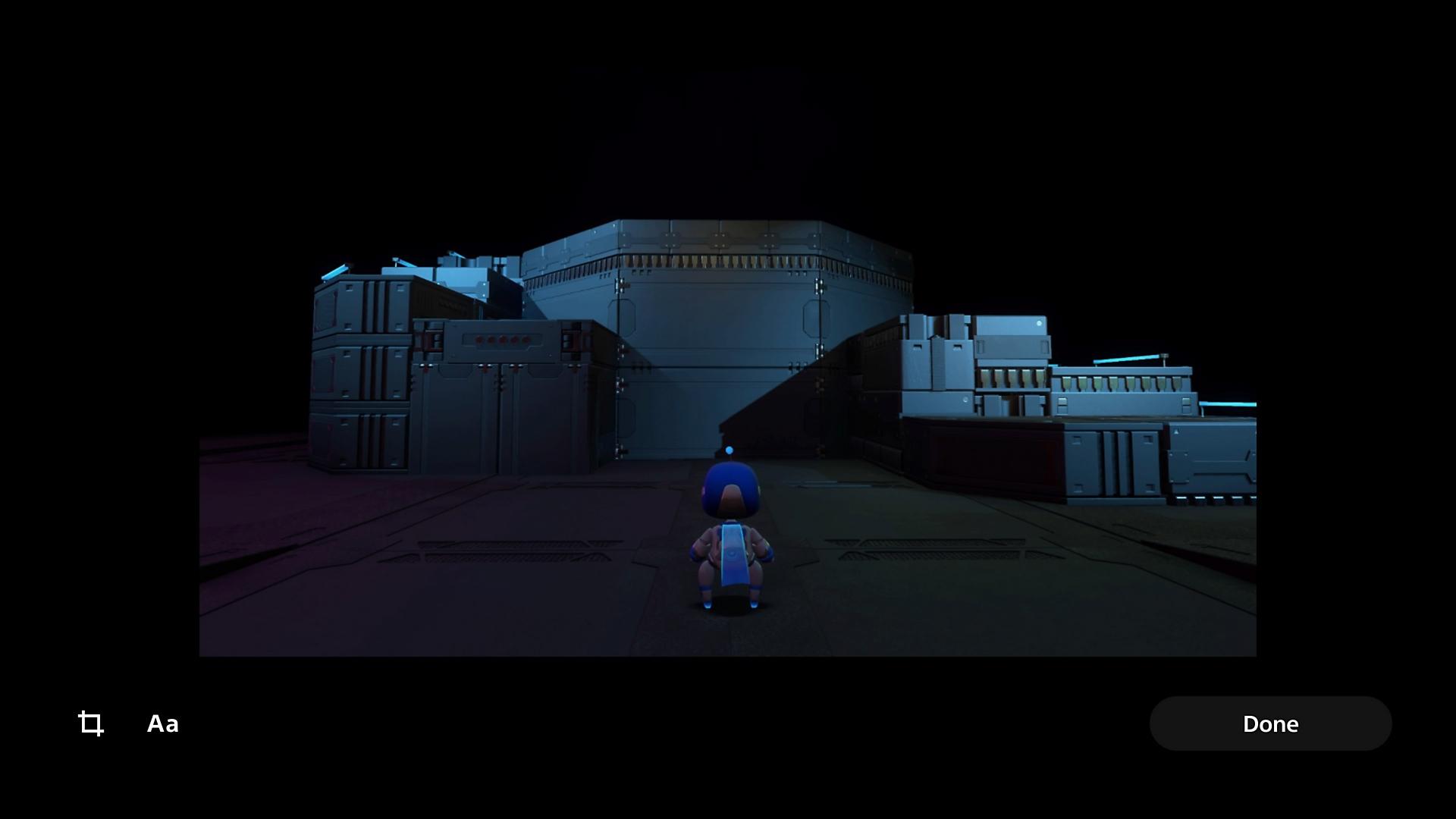 Edit a screenshot on PS5 consoles