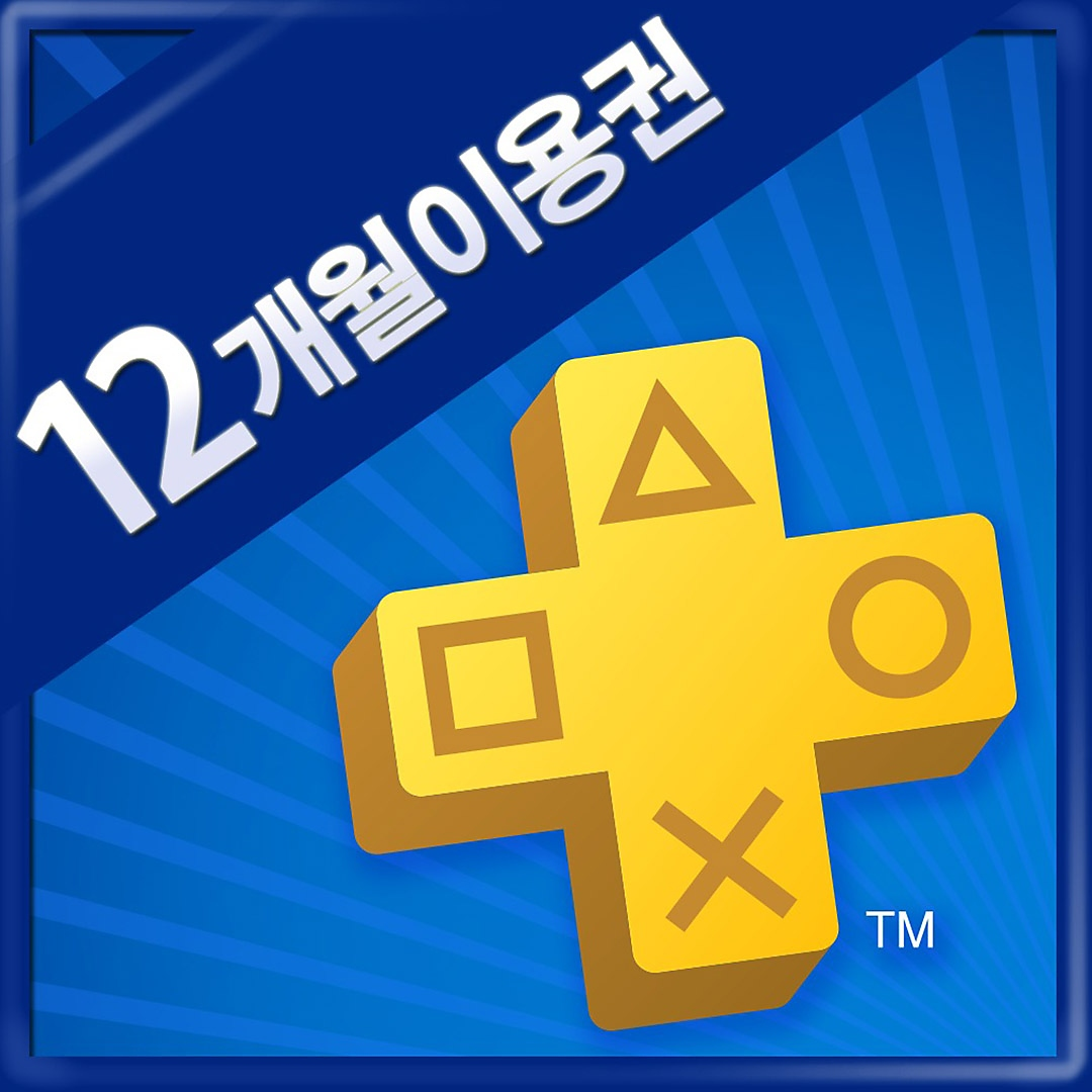 PS Plus 12-M membership