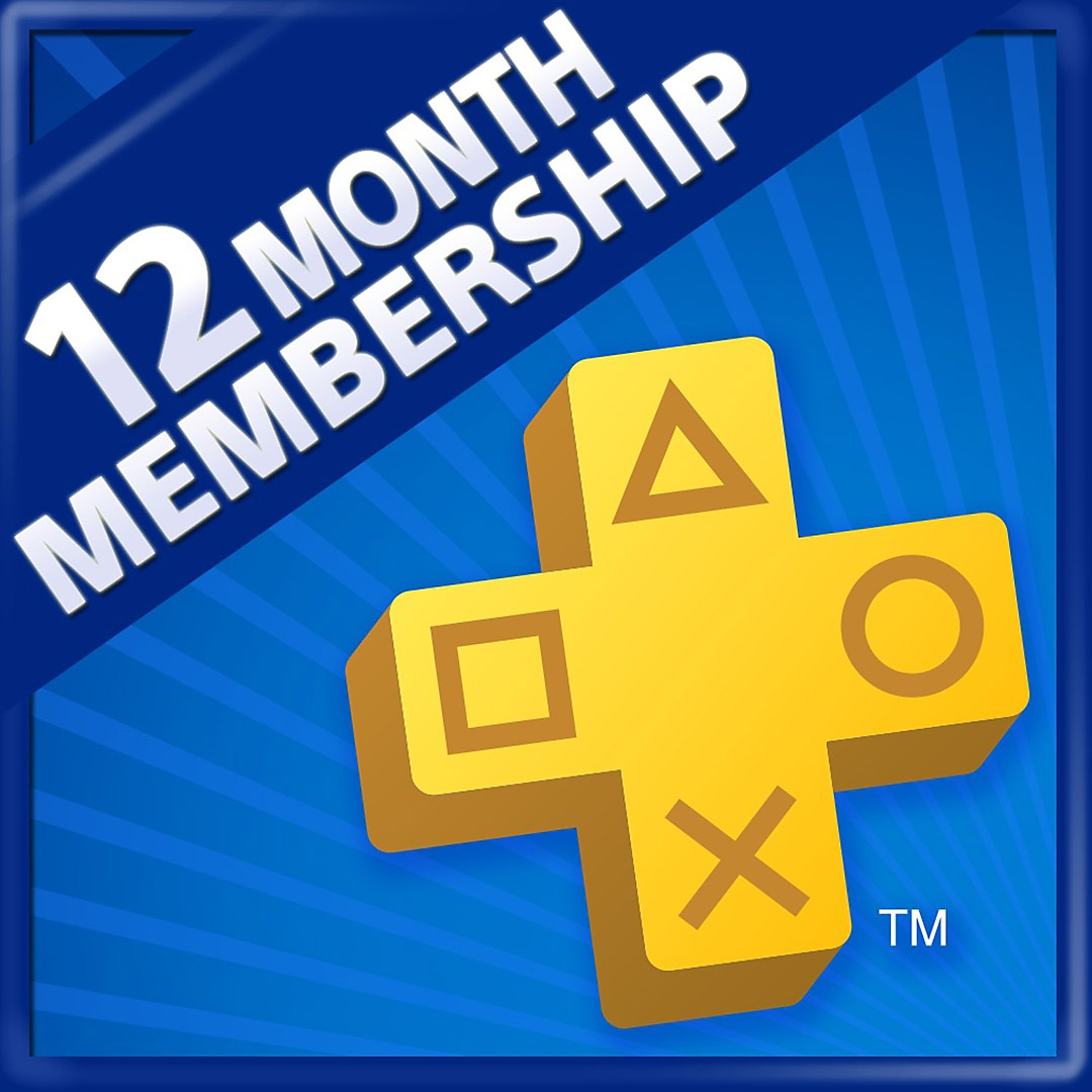 PS Plus 12-M membership