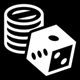 Gambling age rating icon