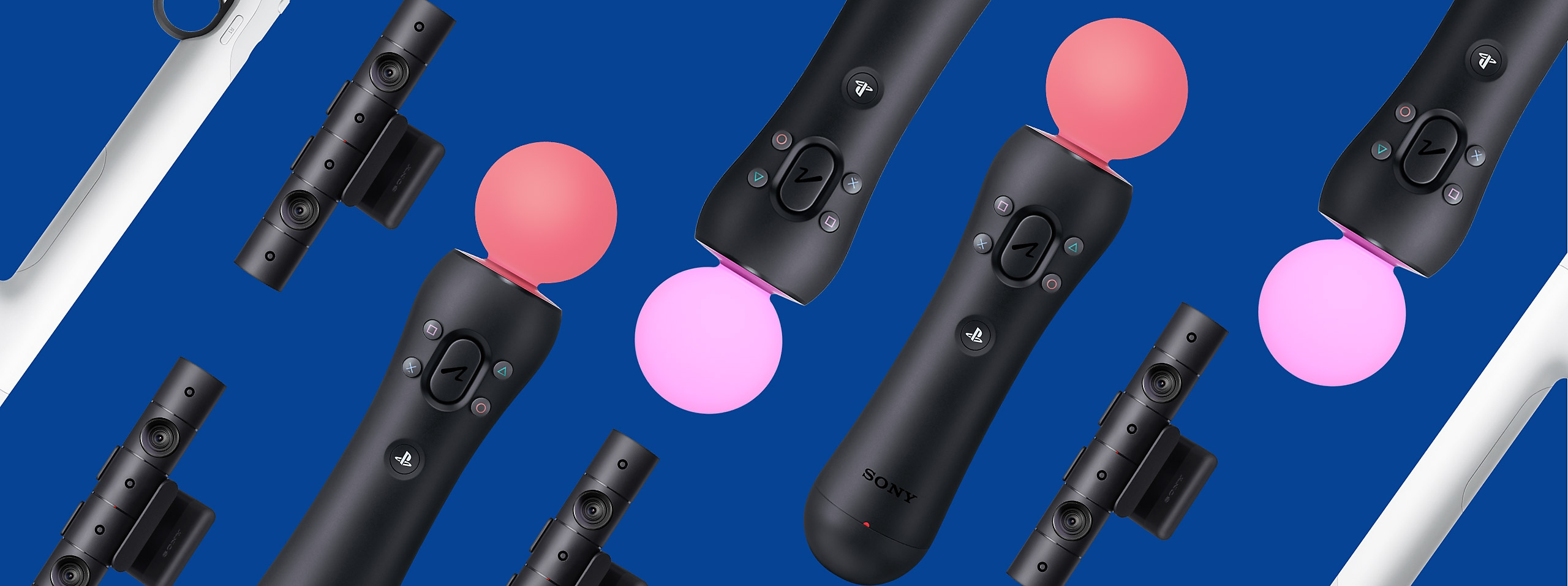 PS VR accessories banner