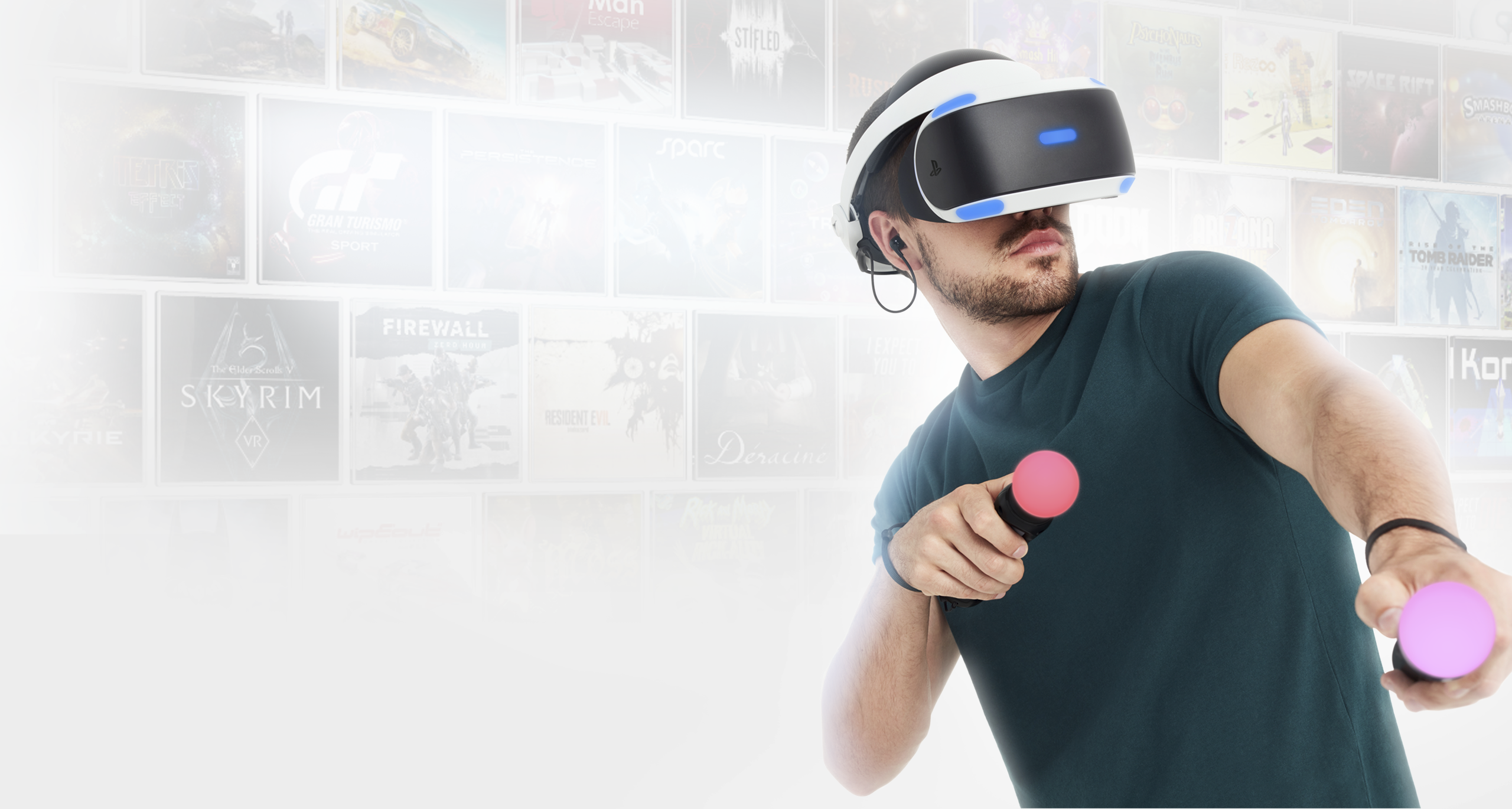 PlayStation VR promosyon görseli