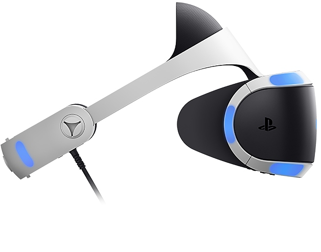 PS VR headset side view