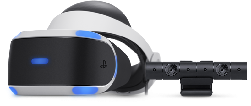 PlayStation VR - Product Shot with PlayStation Camera