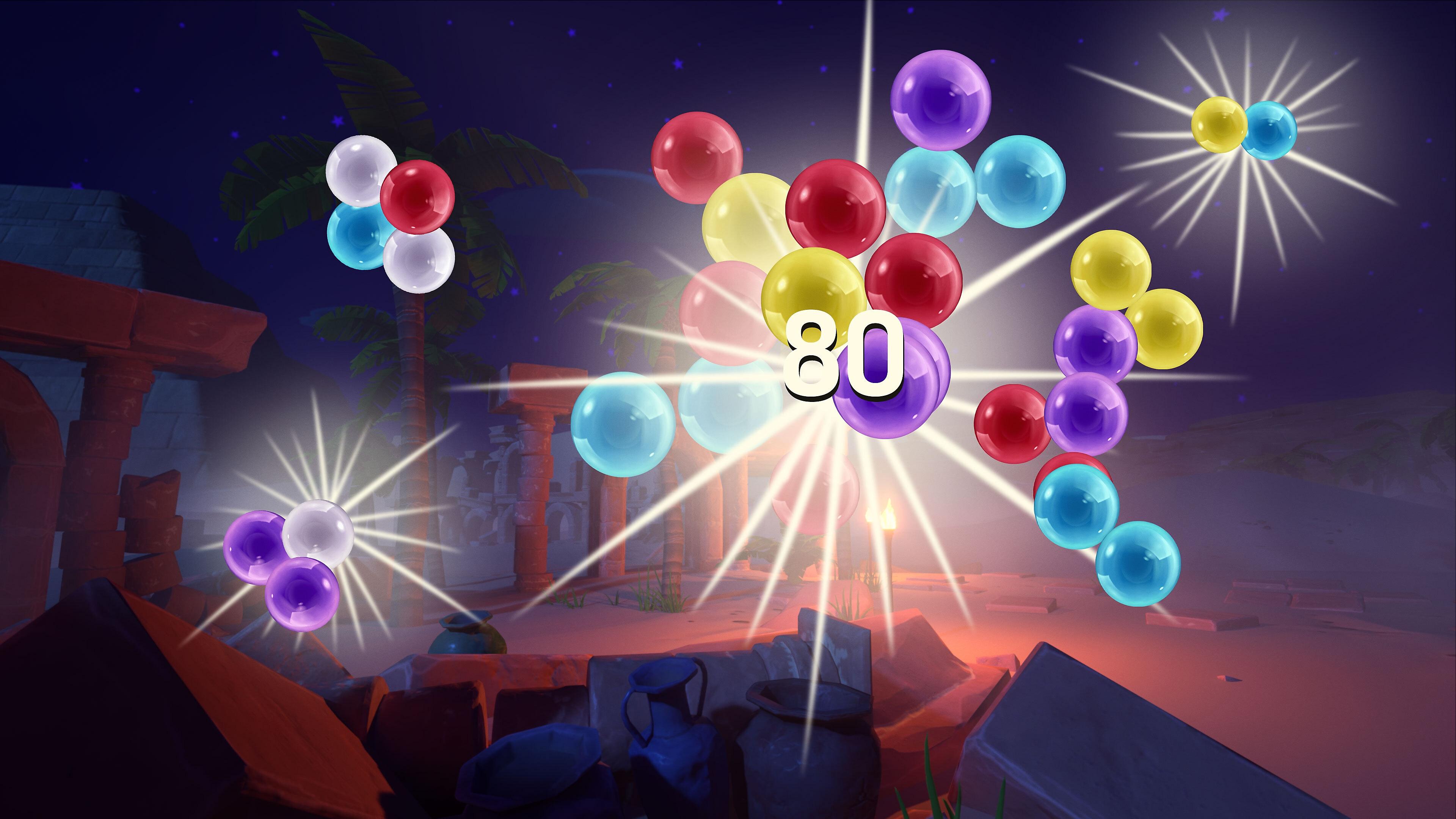 Puzzle Bobble 3D – зняток екрану для анонсу