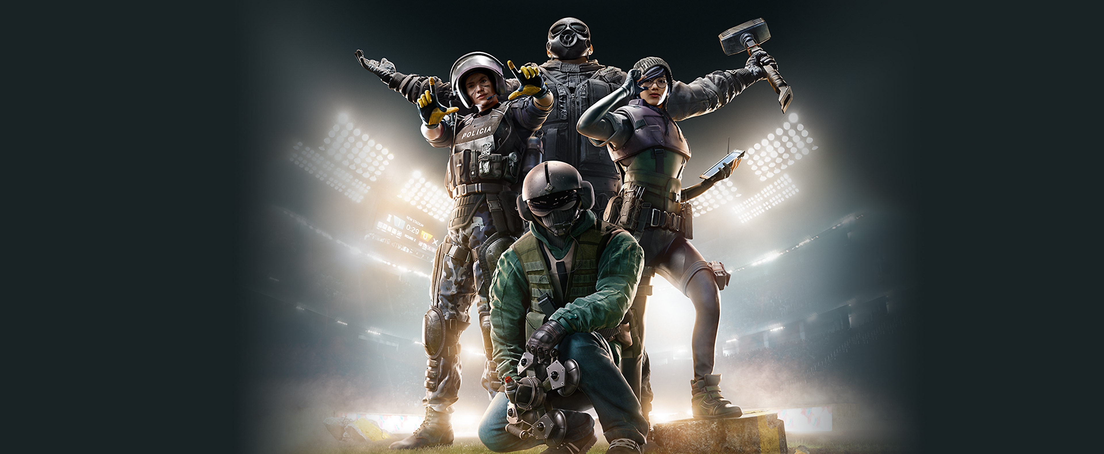 Rainbow Six Siege key art