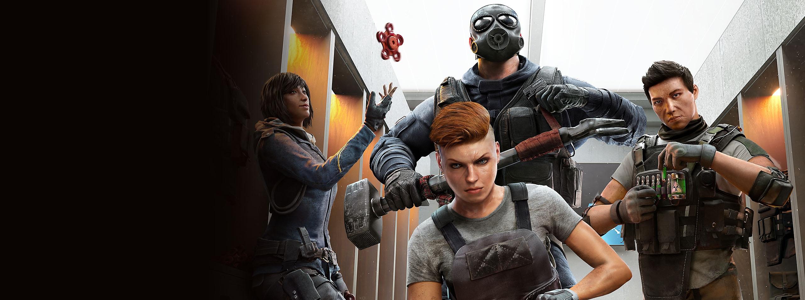 Ilustración promocional de Rainbow Six Siege