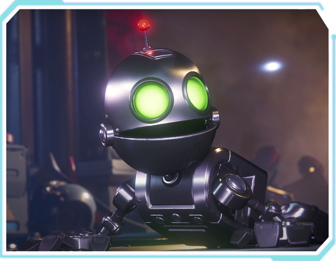 Ratchet & Clank: Rift Apart Character Clank
