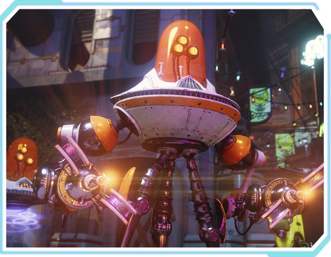 Ratchet & Clank: Rift Apart Character - Clank