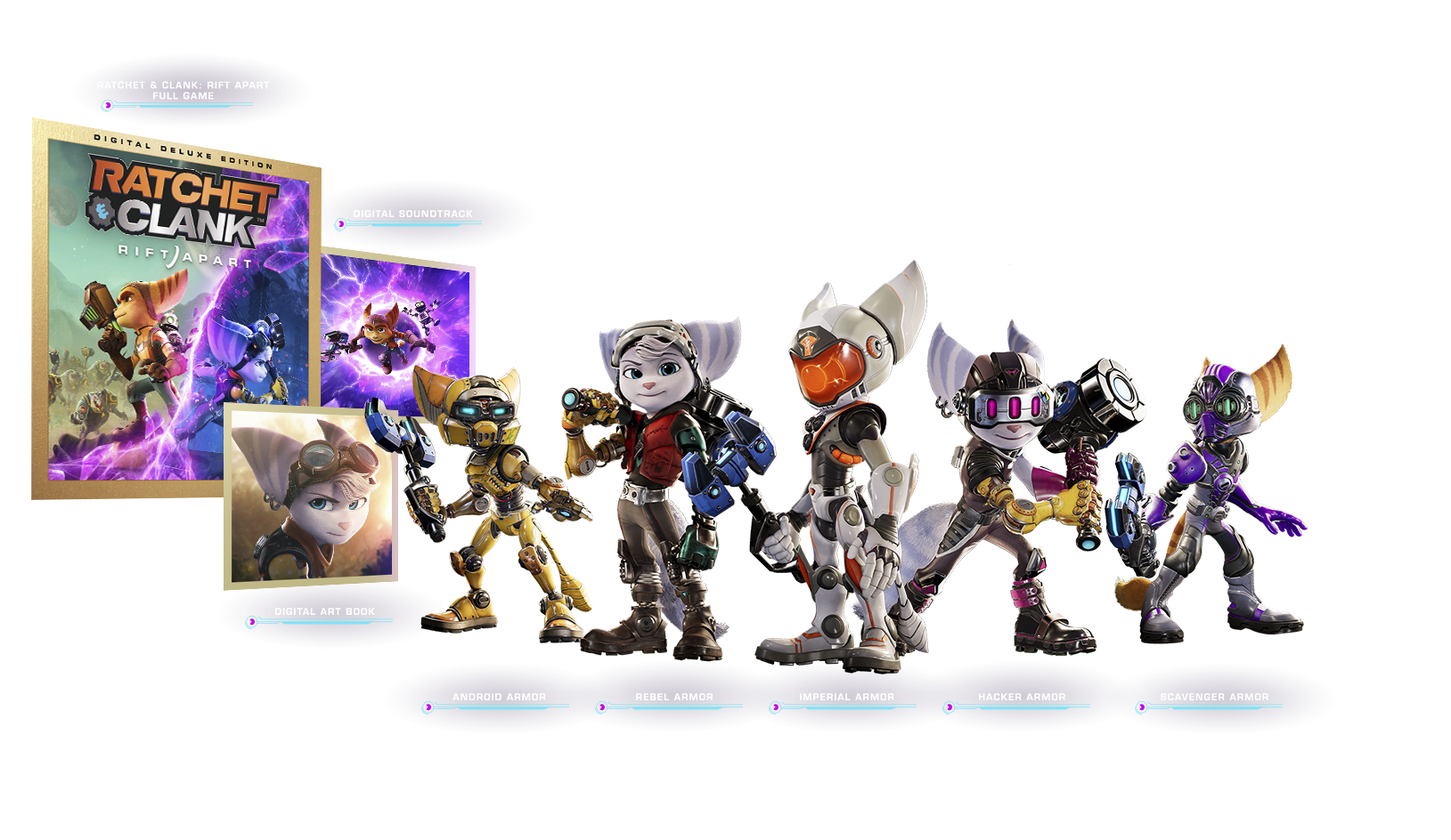 ratchet and clank rift apart digital deluxe extras