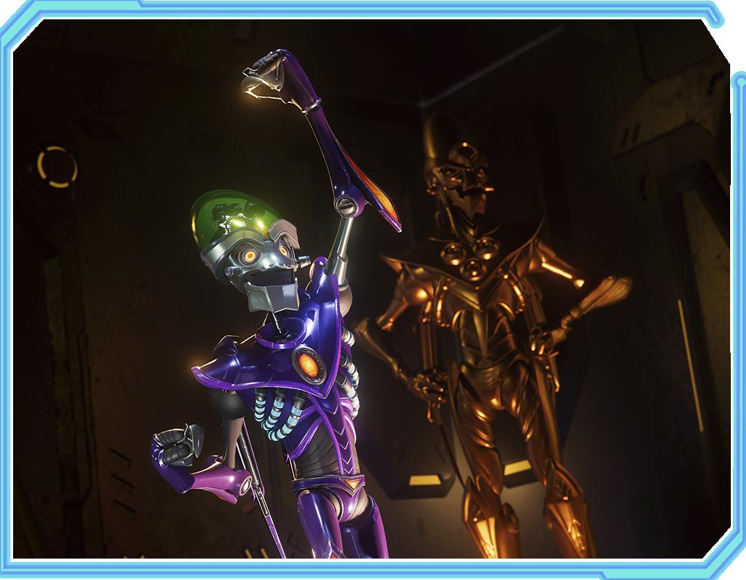 Ratchet & Clank: Rift Apart Character - Dr. Nefarious