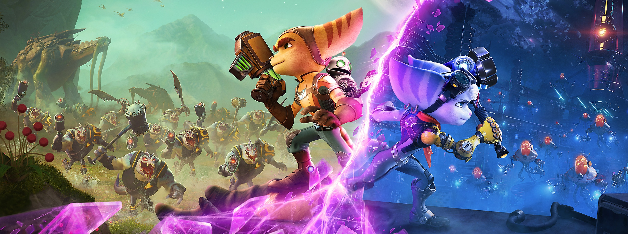 Ratchet and Clank: Rift Apart - Key Art