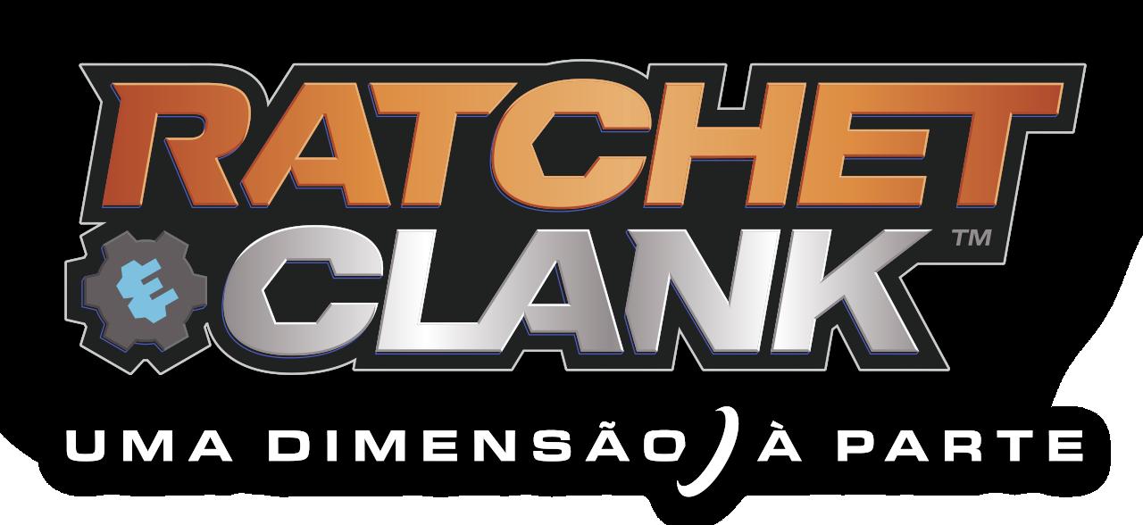 logótipo de ratchet e clank: uma dimensão à parte