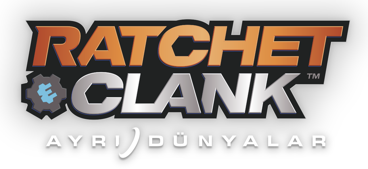 ratchet and clank ayrı dünyalar logosu
