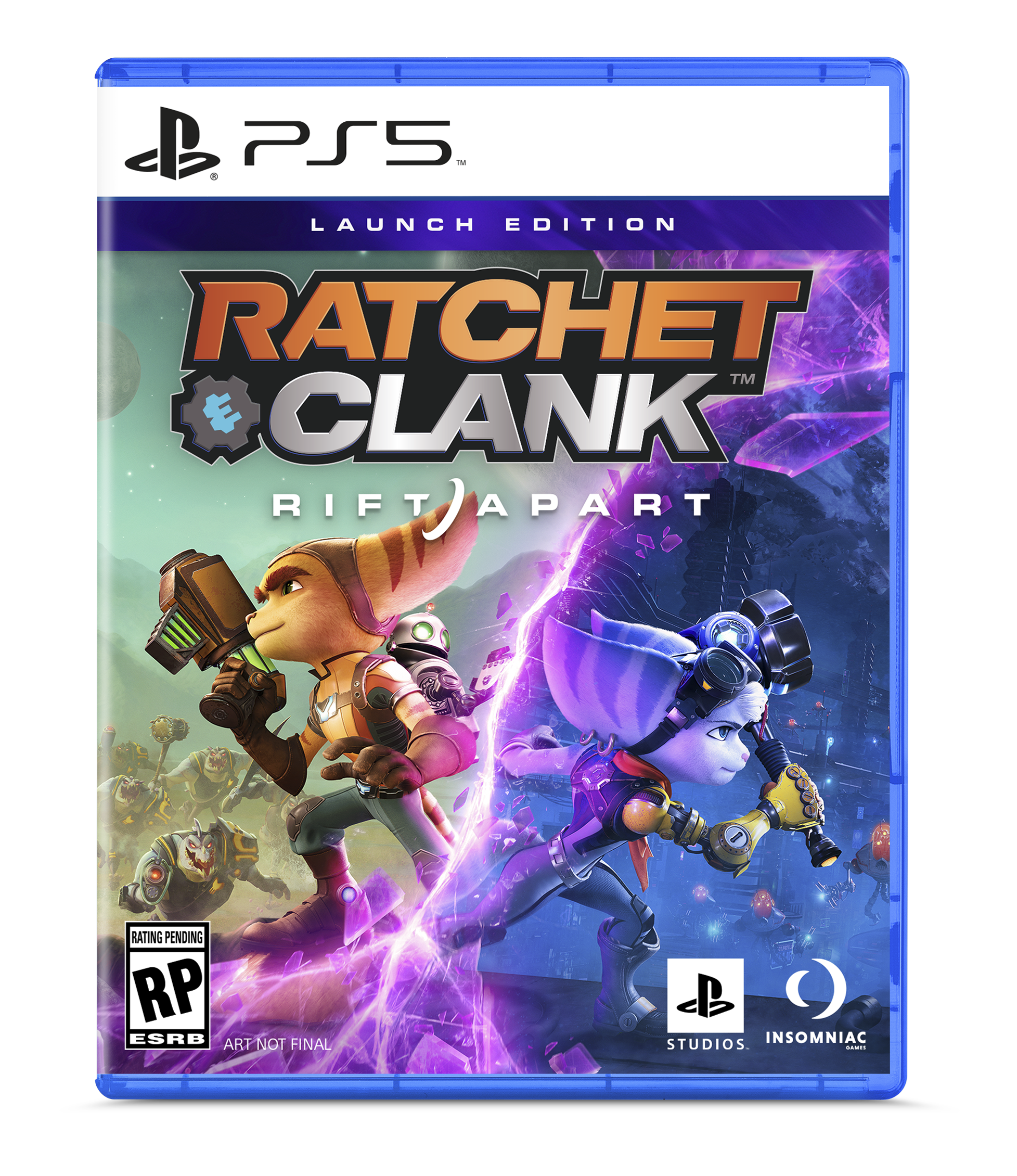ratchet and clank rift apart blu ray