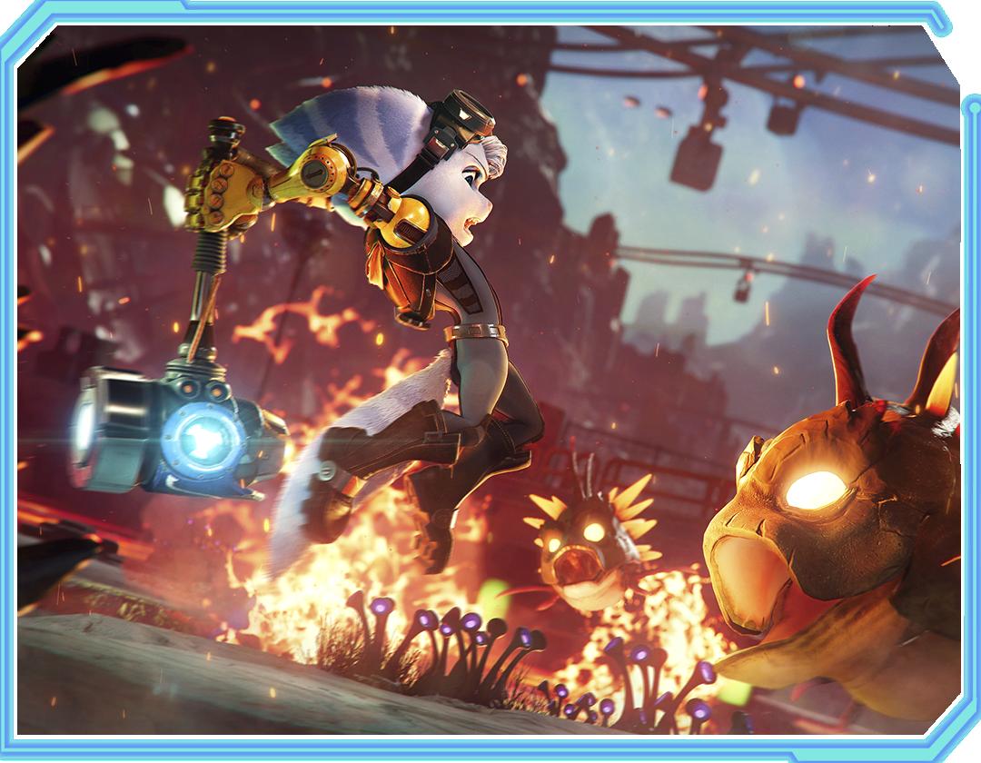 Ratchet & Clank: Rift Apart Character - Rivet