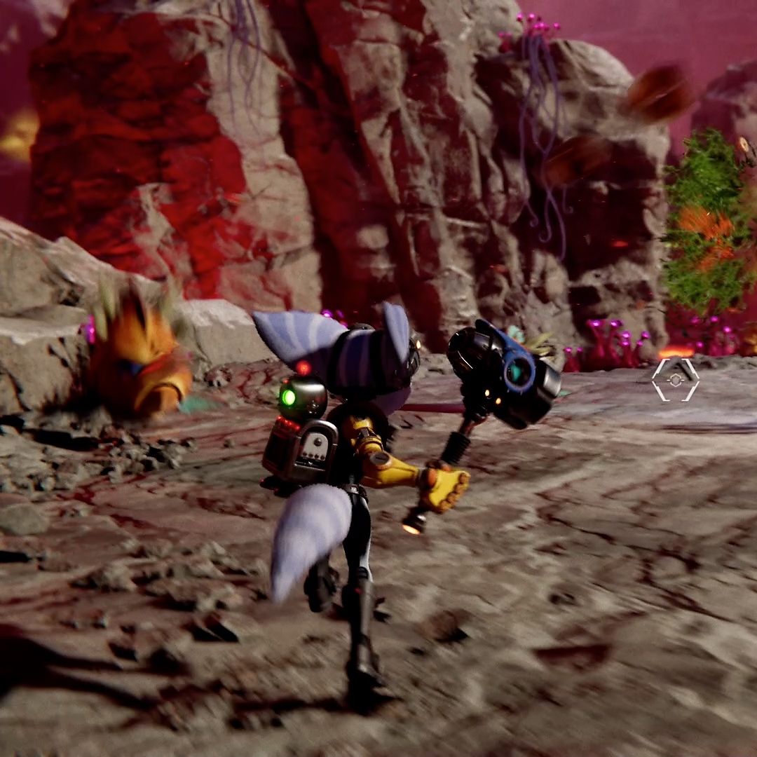 Ratchet & Clank: Rift Apart Hammer