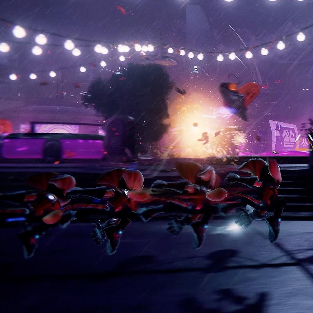 Ratchet and Clank Rift Apart Phantom Dash
