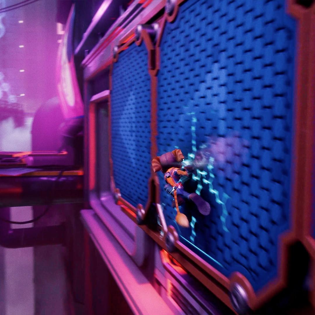 Ratchet & Clank: Rift Apart Wall Run