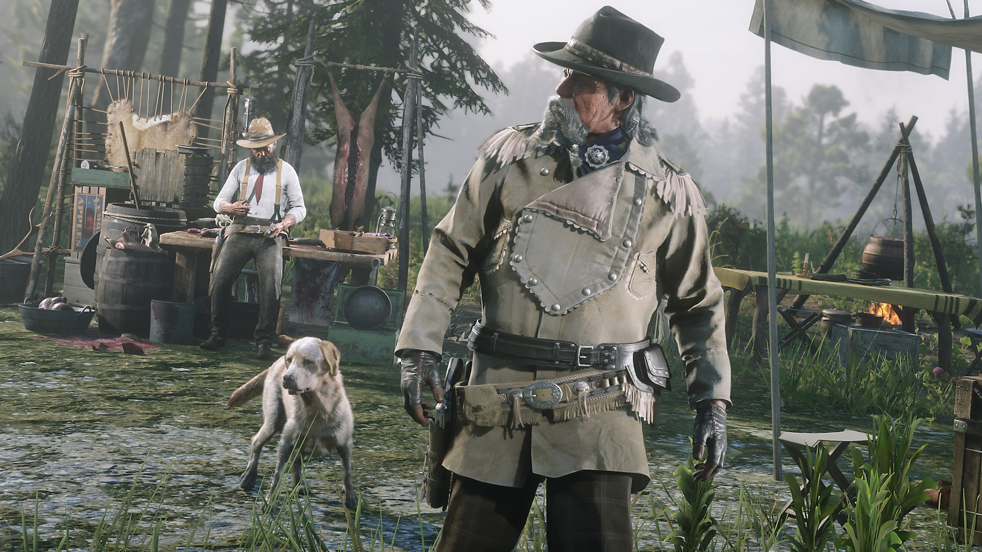 Red Dead Online - captura de Comerciante