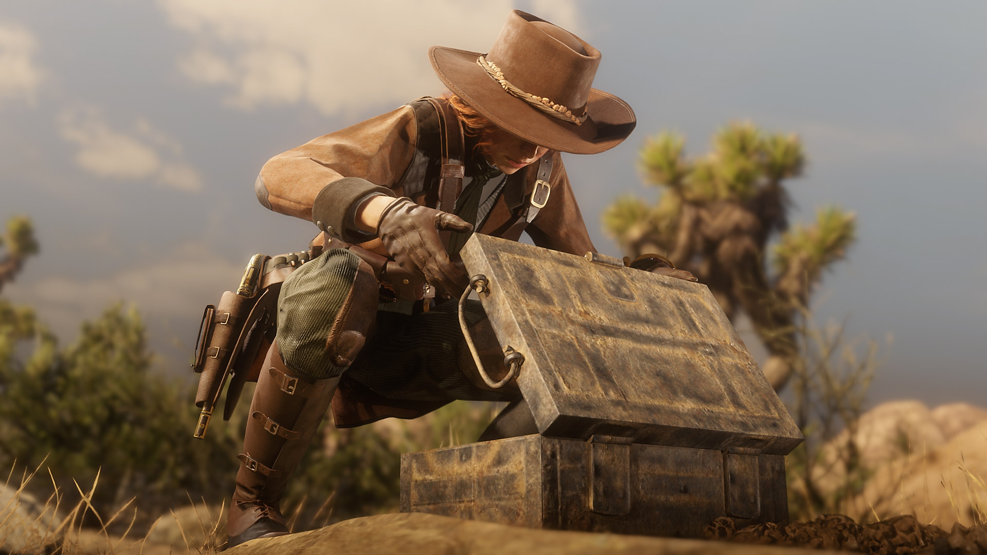Red Dead Online - captura Coleccionista