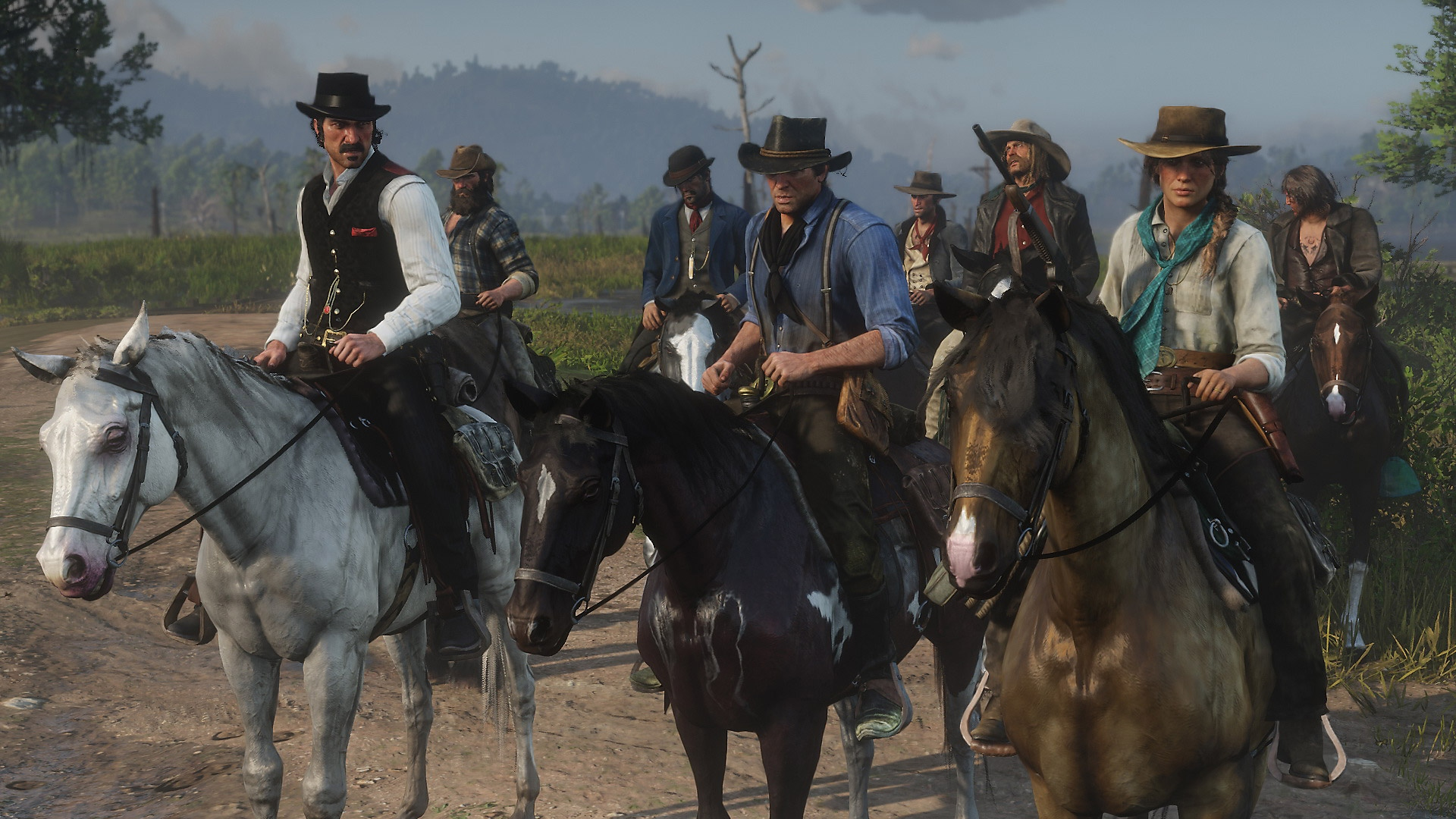 Red Dead Redemption 2 - gameplay screenshot