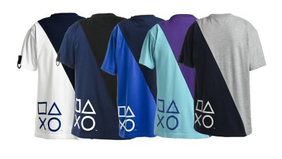 リメイク加工 TシャツB / PlayStation画像2