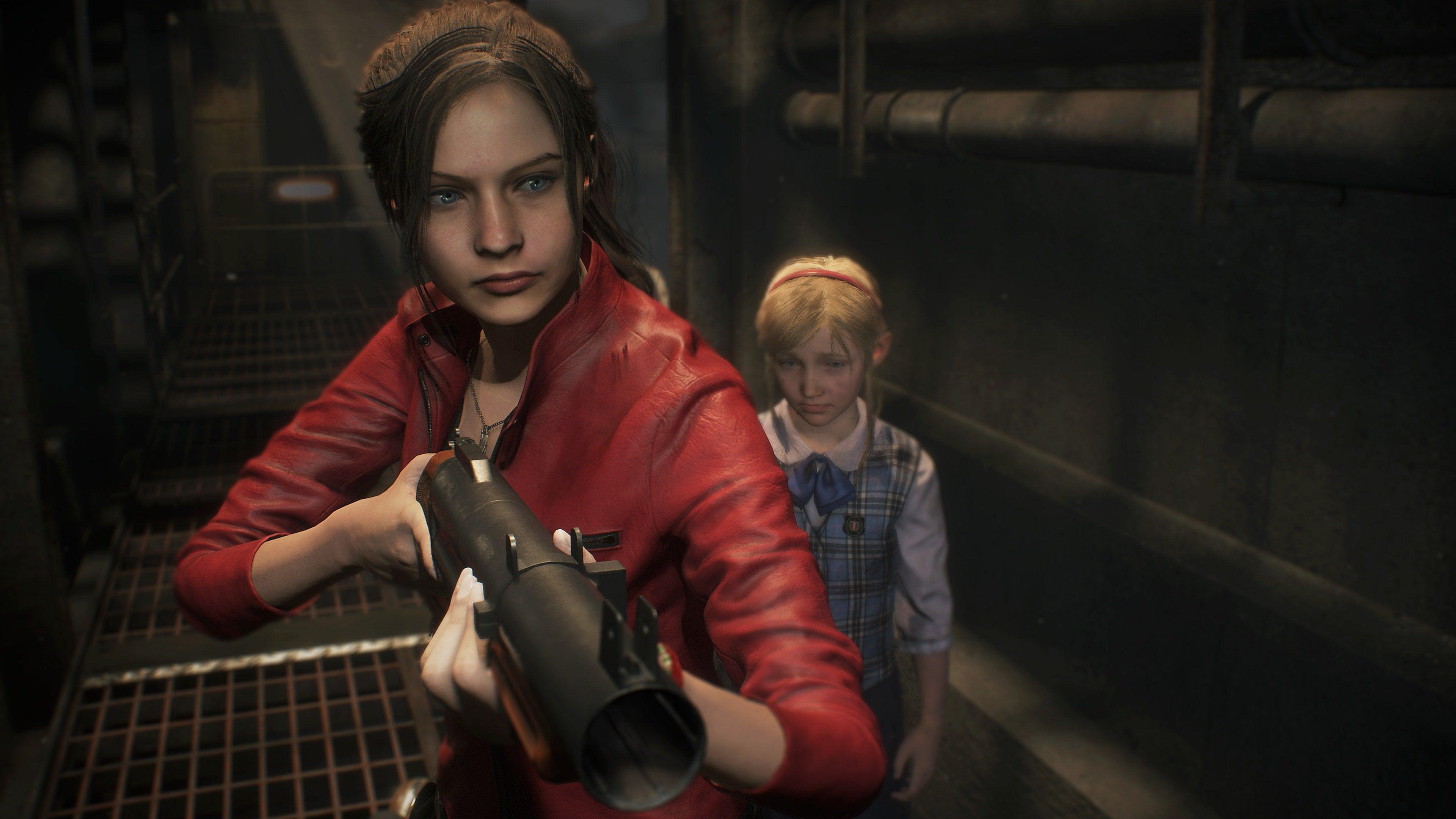 Resident Evil – Istantanea della schermata di Claire Redfield